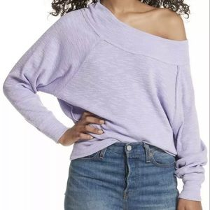 We The Free Palisade Off The Shoulder Top Lilac M